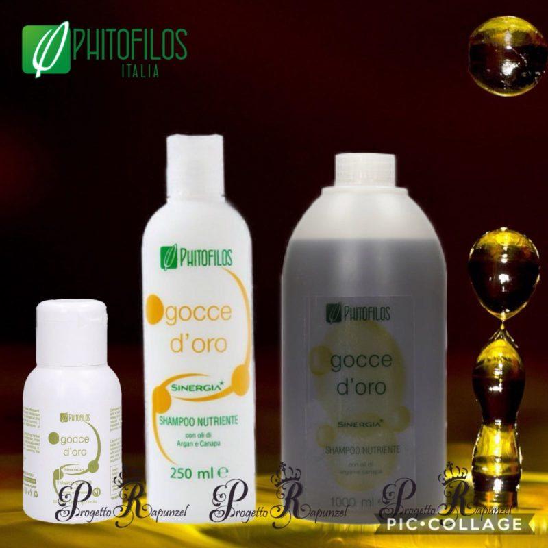Phitofilos Shampoo Gocce D'Oro