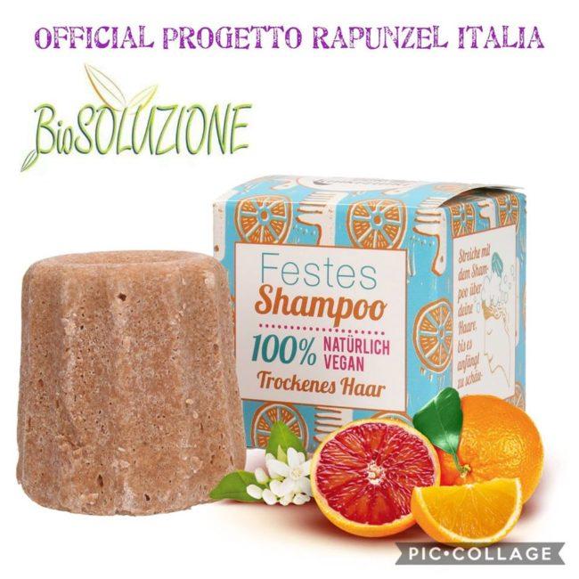 LAMAZUNA Shampoo Solido Arancio