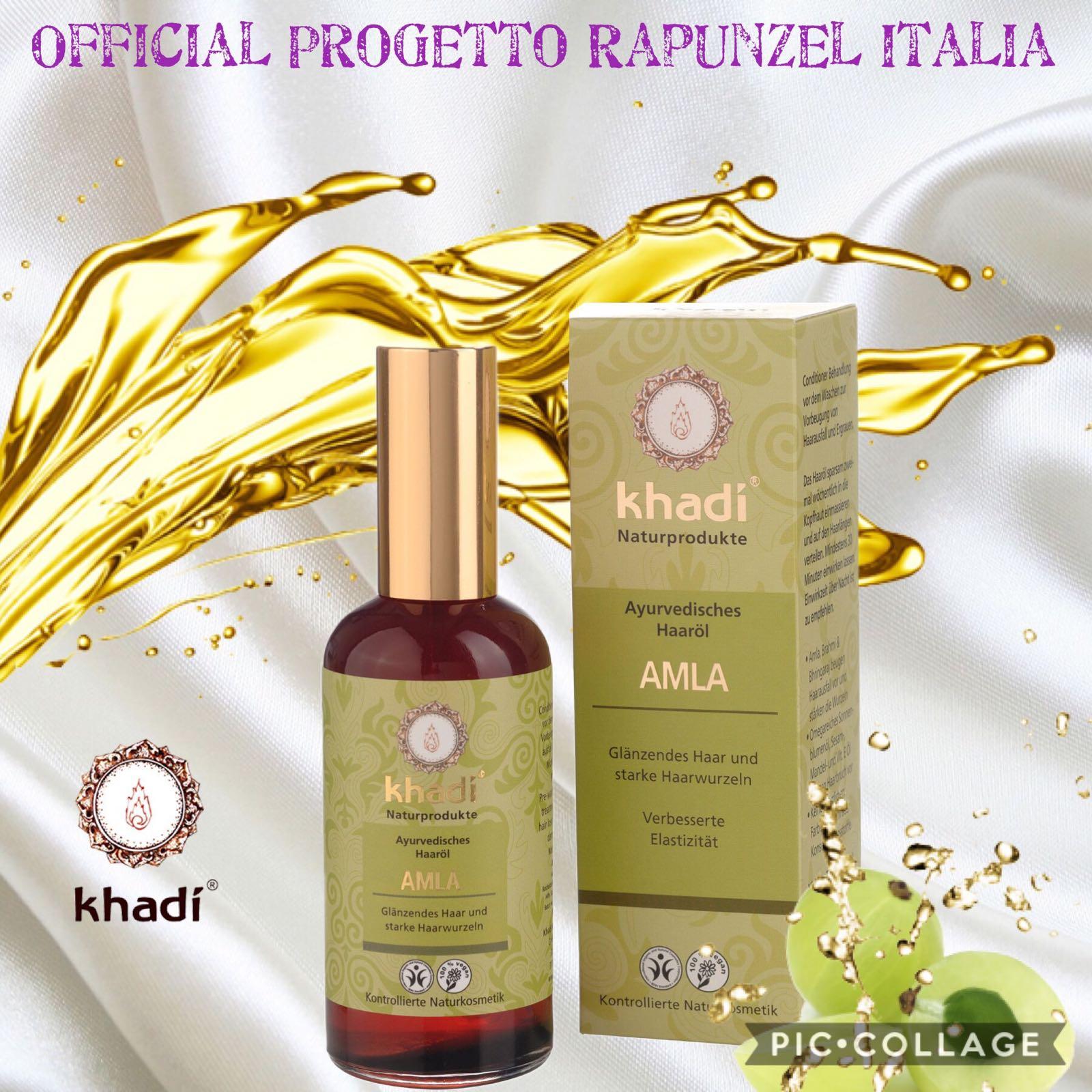 KHADI® – Olio per Capelli Amla