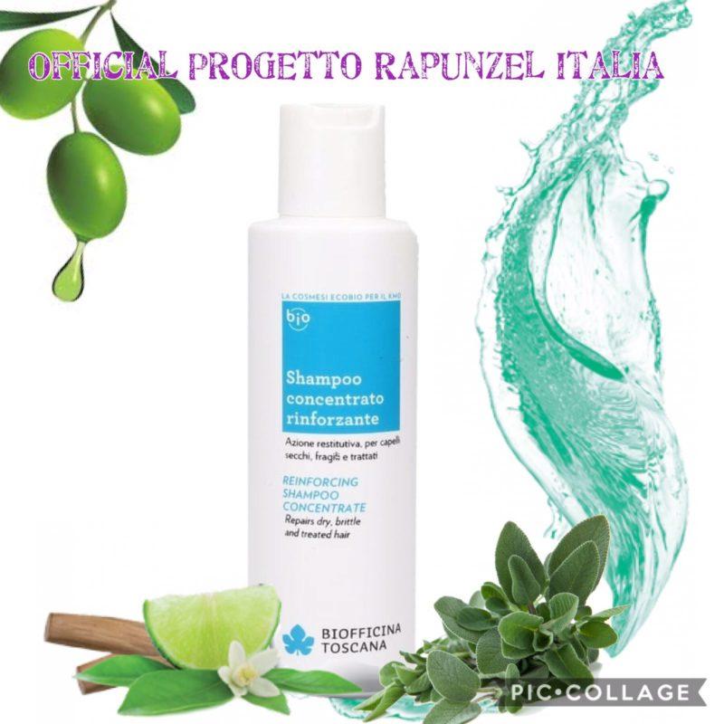 BIOFFICINA TOSCANA Shampoo Concentrato Rinforzante