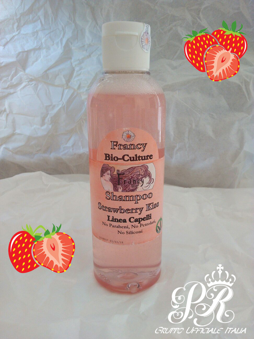 Recensione Shampoo Strawberry Kiss di Francy Biocolture