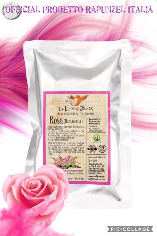 Polvere di rosa Damascena – LE ERBE DI JANAS
