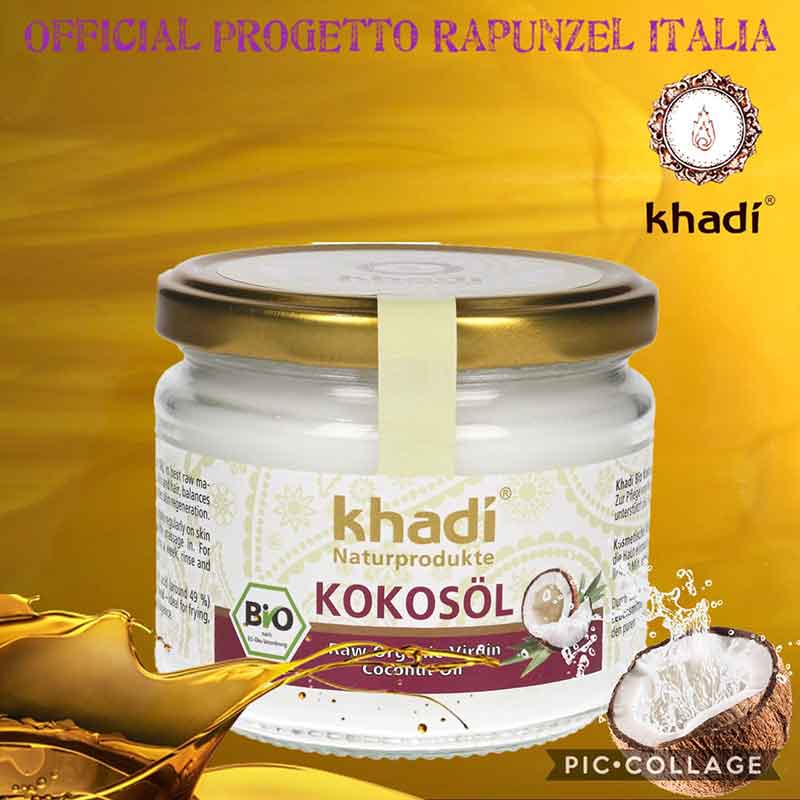 Olio di cocco Vergine Biologico – KHADI®