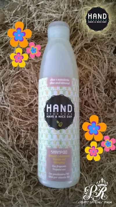 Recensione Shampoo Delicato BIO aloe e mandorla HAND