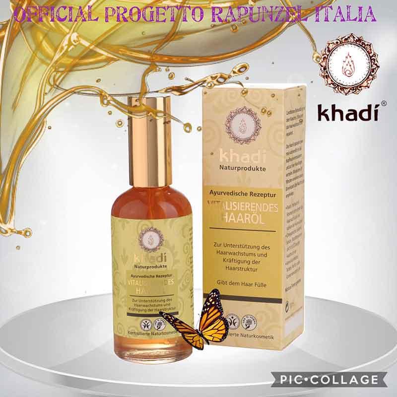 Olio rivitalizzante per capelli – KHADI