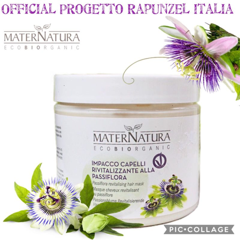 MATERNATURA Impacco capelli rivitalizzante alla Passiflora