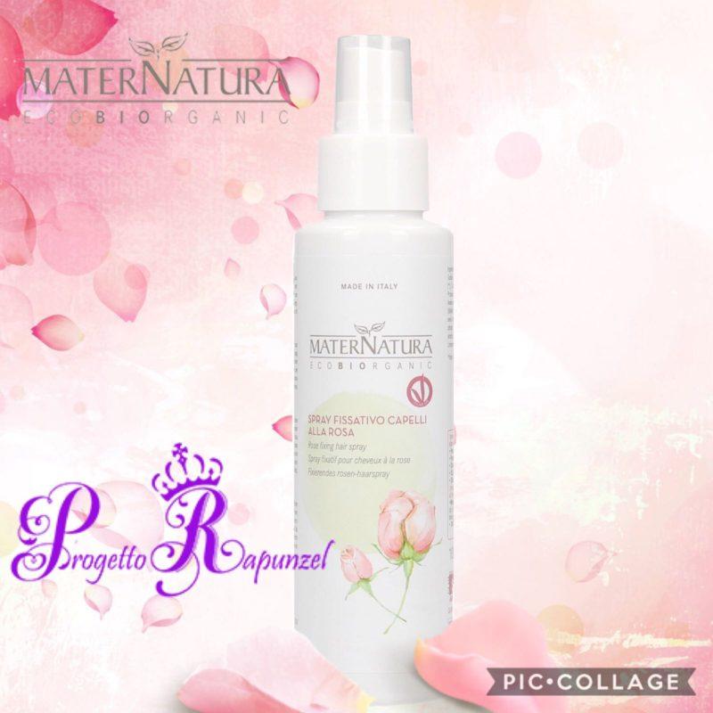 MATERNATURA Spray fissativo alla Rosa
