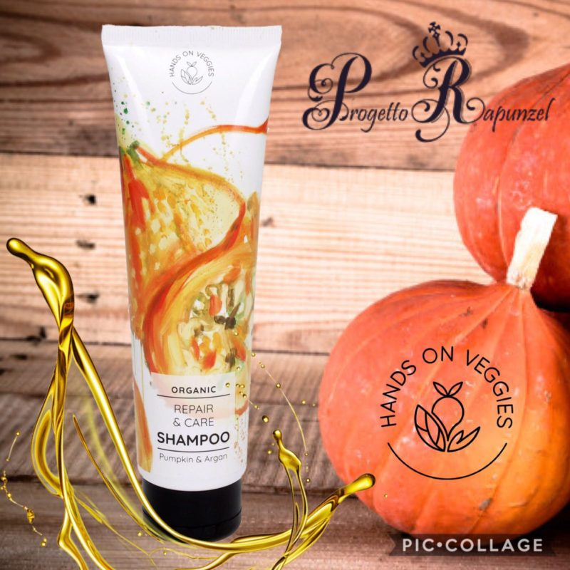 HANDS ON VEGGIES Organic Repair & Care Shampoo Pumpkin & Argan