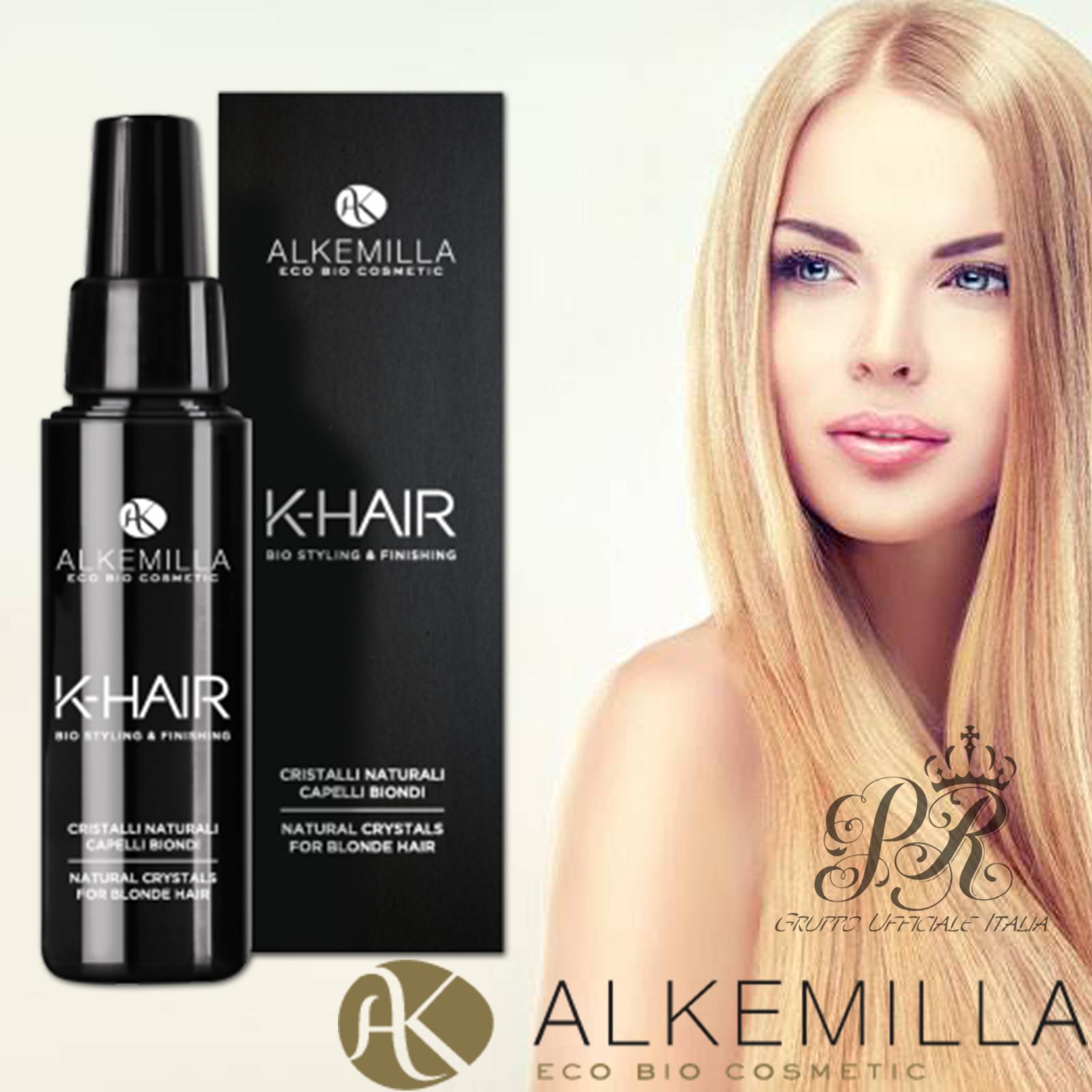 Alkemilla Cristalli Naturali per capelli biondi K-Hair