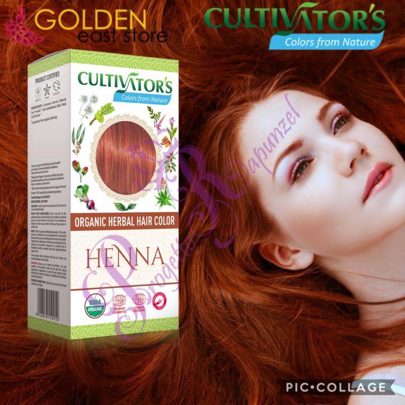 Cultivator's Henna Tinta Vegetale Biologica