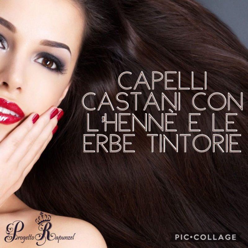 Capelli Castani Con Lhennè E Le Erbe Tintorie Official