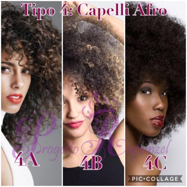 Tipo 4 capelli afro