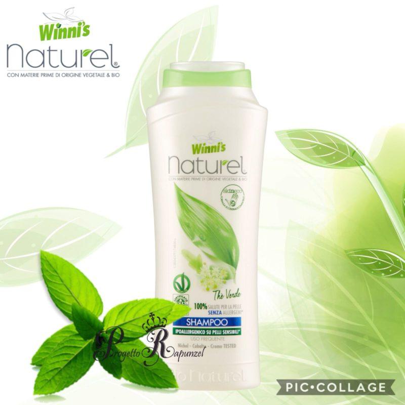 Winni's Naturel Shampoo uso frequente al Thè verde