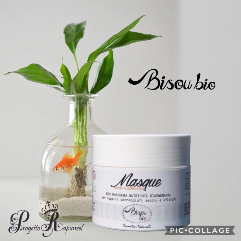 BisouBio Maschera Cocco e Albicocca