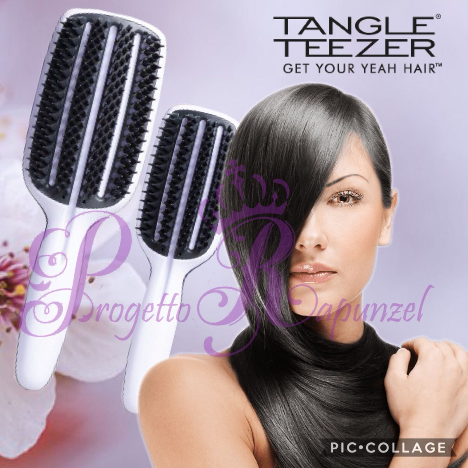 TANGLE TEEZER Spazzola piatta Blow-Styling