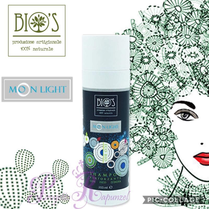 Bio's Shampoo Rinforzante al Fico D'India – Linea Moon Light