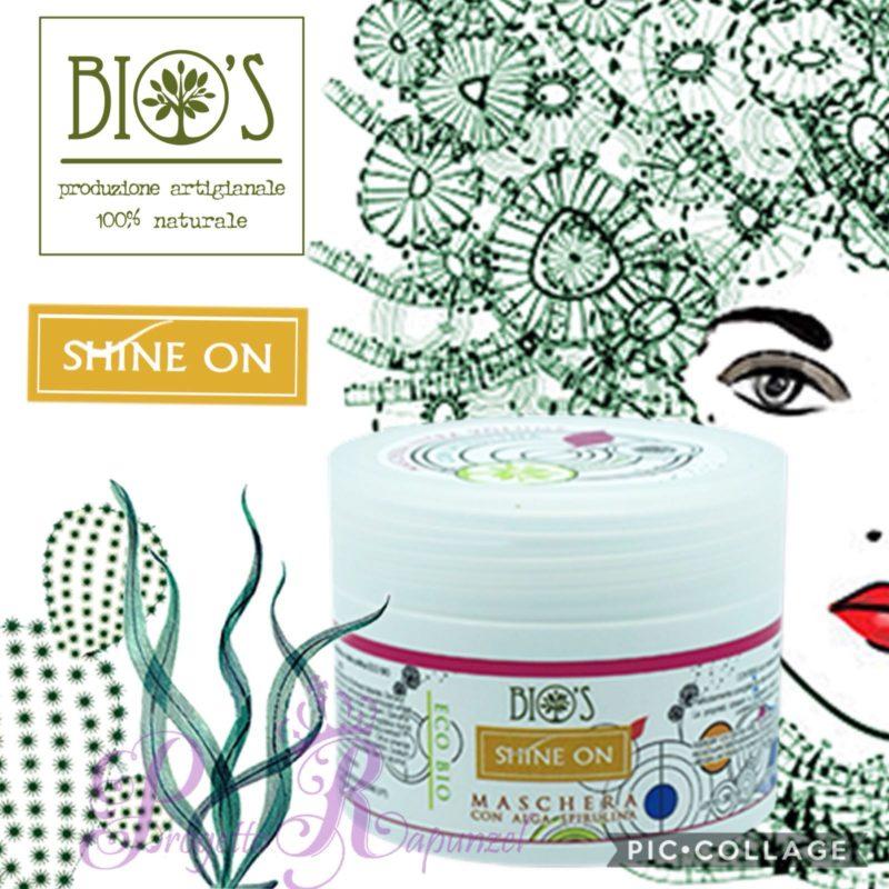 Bio's Maschera con Alga Spirulina – Linea Shine One