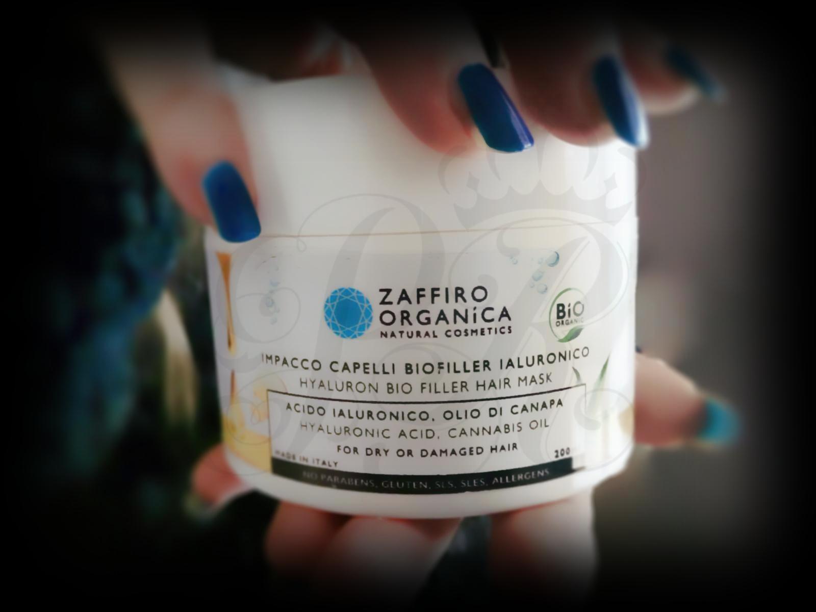 Zaffiro Organica Impacco-maschera capelli biofiller acido ialuronico