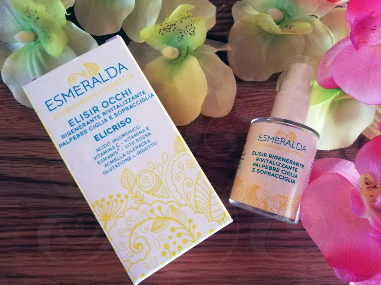 Esmeralda Cosmetics Elisir Occhi all'Elicrisio