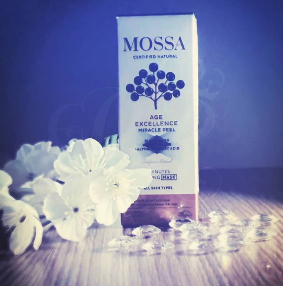 Mossa Cosmetics Age Excellence miracle Peel