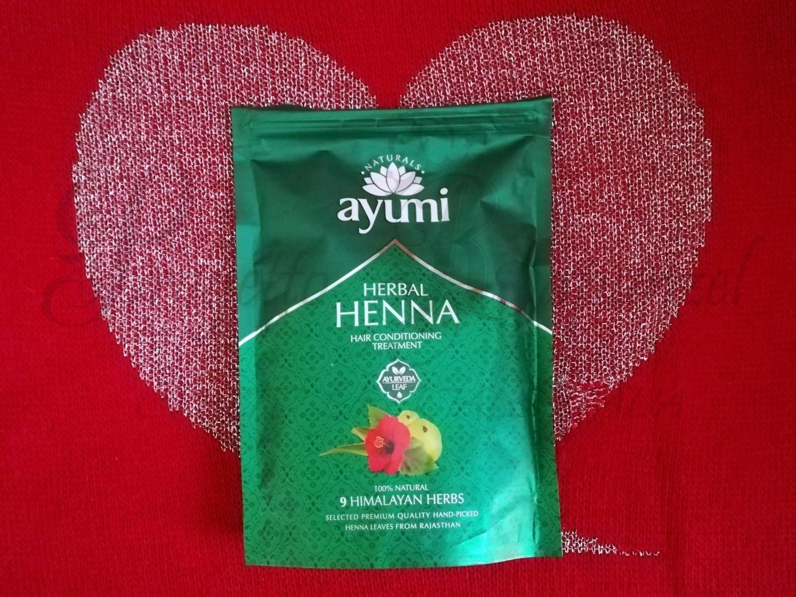 Ayumi Naturals L'Hennè con 9 Erbe Himalayane