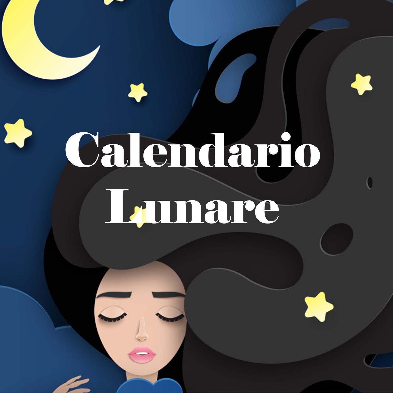Calendario Lunare Di Bellezza.Calendario Lunare Official Progetto Rapunzel Italia