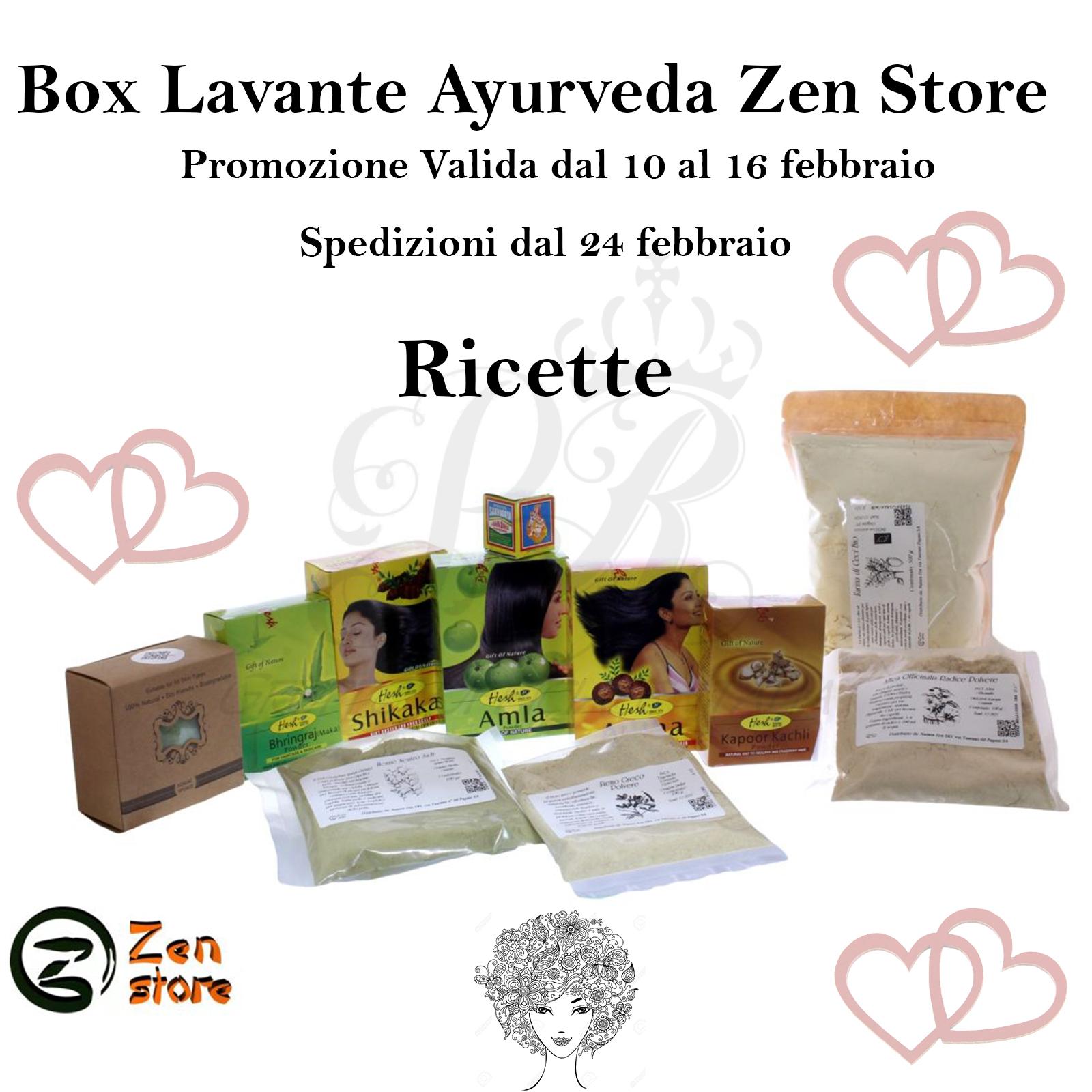 Ricette consigli Box Lavante Ayurvedica Zen Store