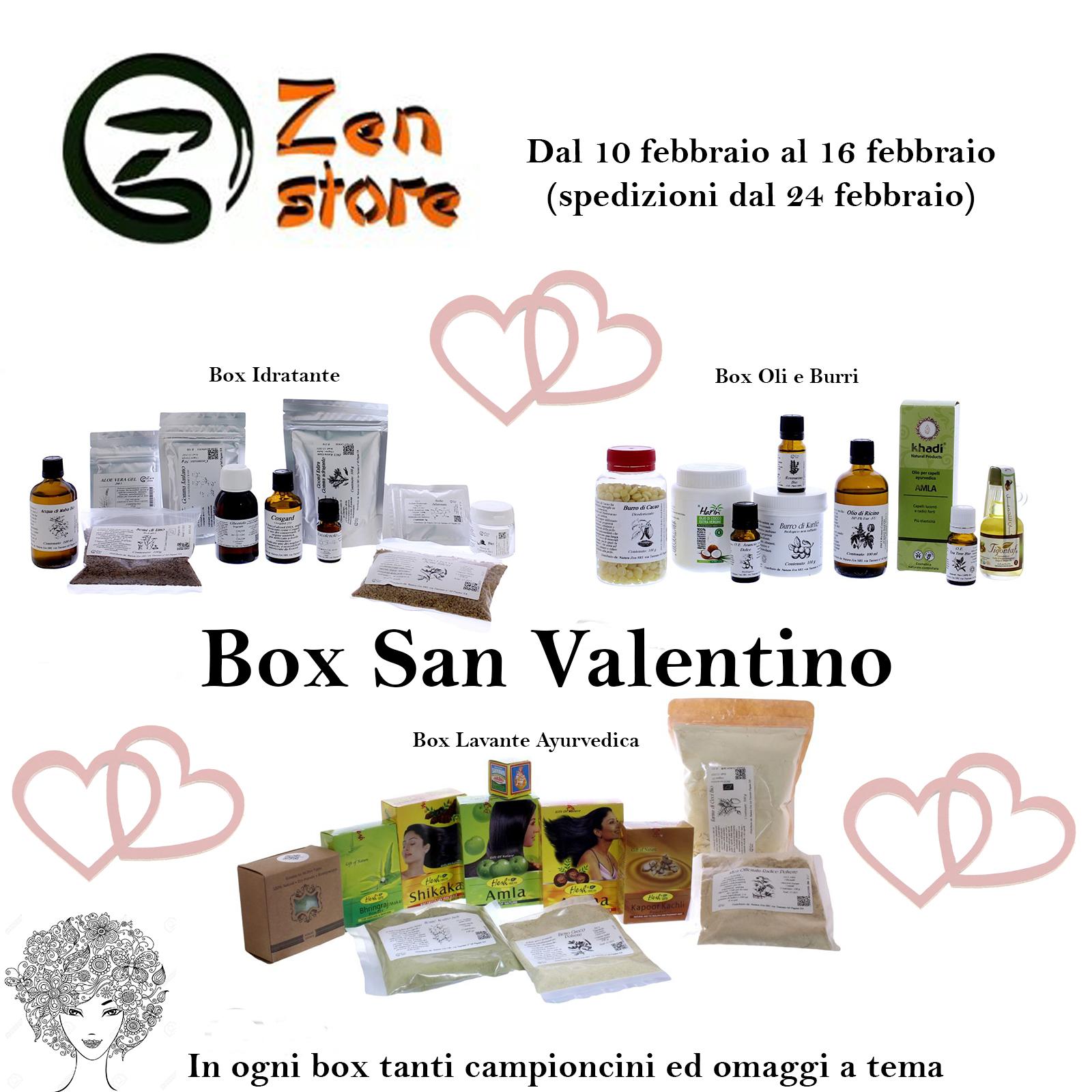 Box San Valentino Zen Store