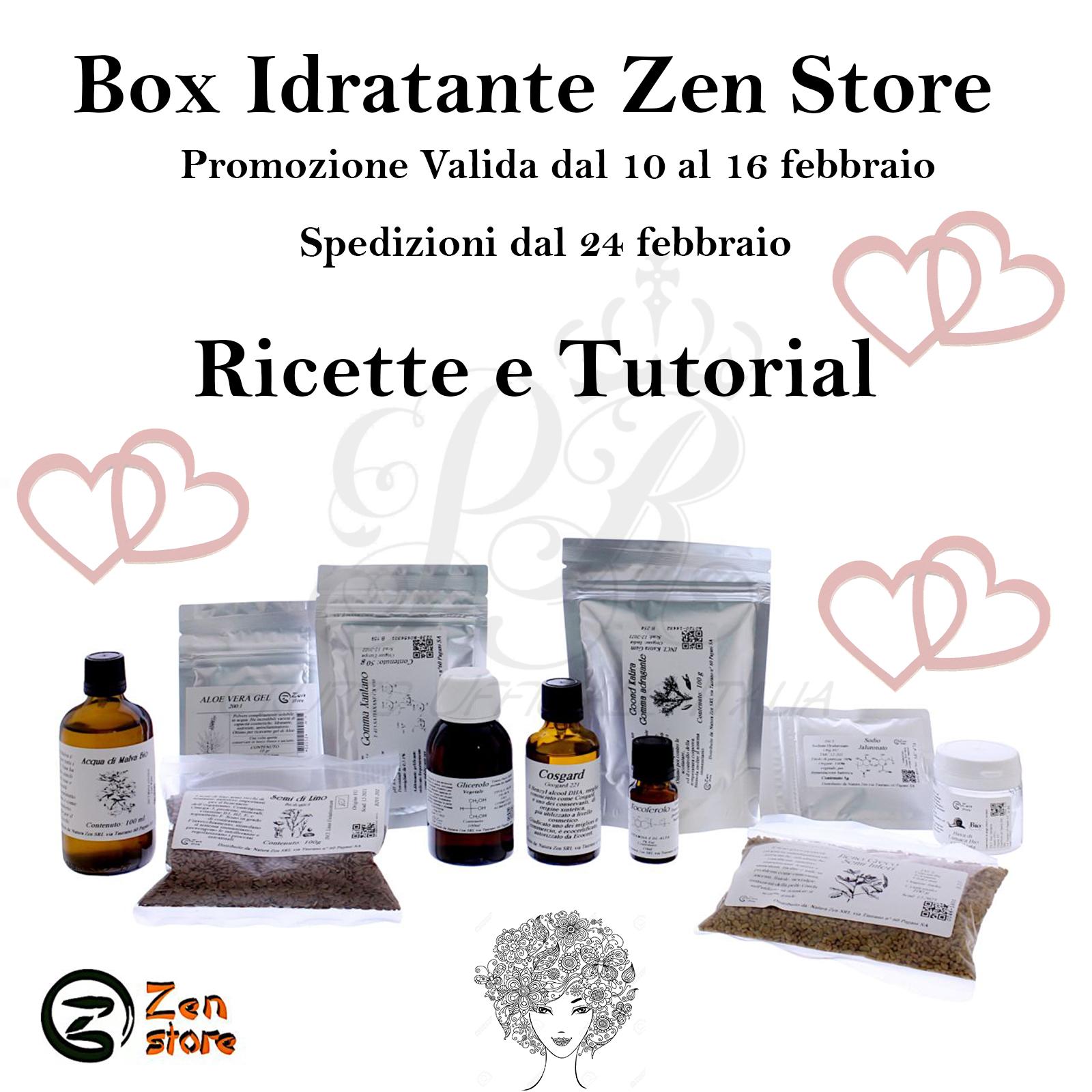 Ricette consigli Box Idratante Zen Store
