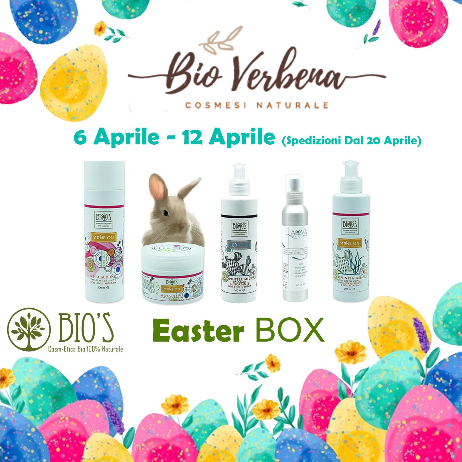 Easter BOX Bioverbena e Bio's