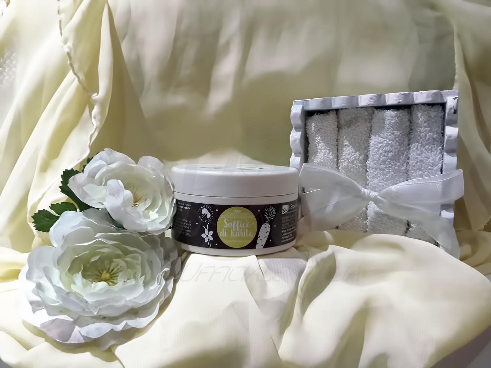 La Saponaria Crema corpo nutriente Soffice di karité