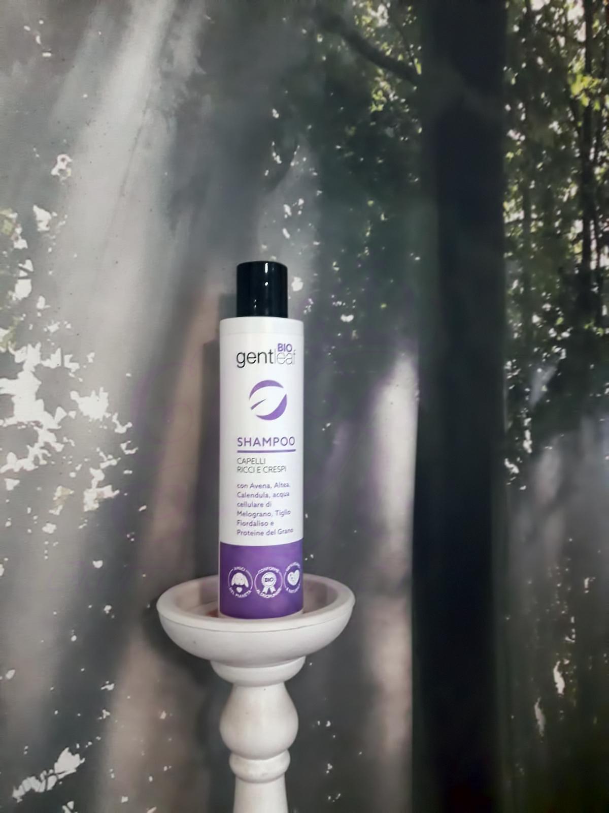 Gentleaf Bio Shampoo per capelli ricci e crespi