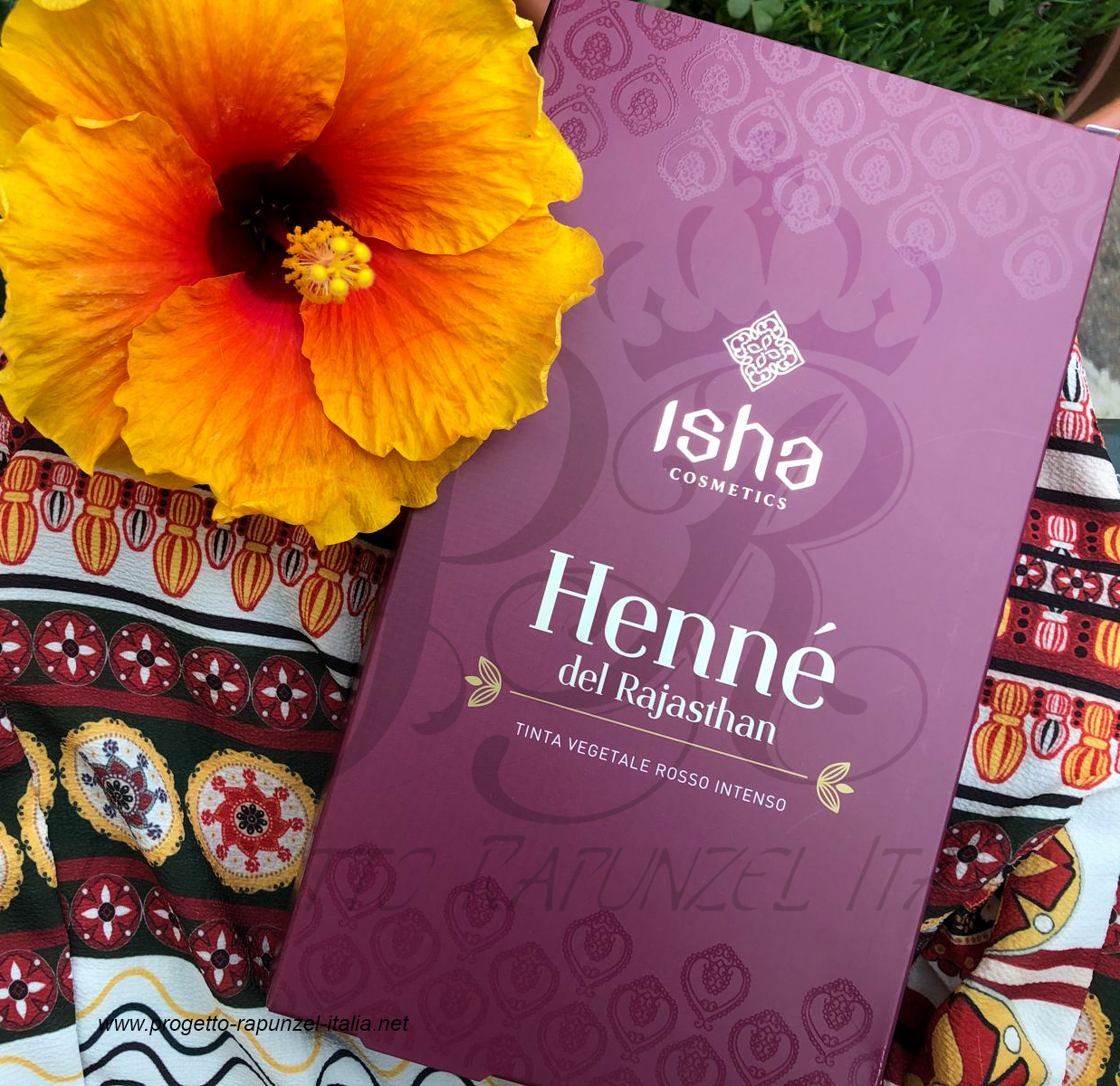 ISHA Cosmetics Henne de Rajasthan